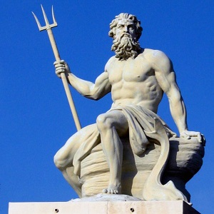 The Greek god: Poseidon